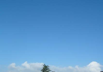 ciel de dimanche.